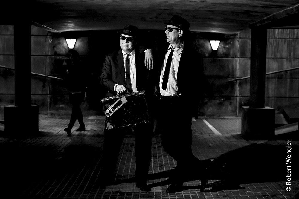 Blues Brothers gør klar til deres juleshow for 25. gang